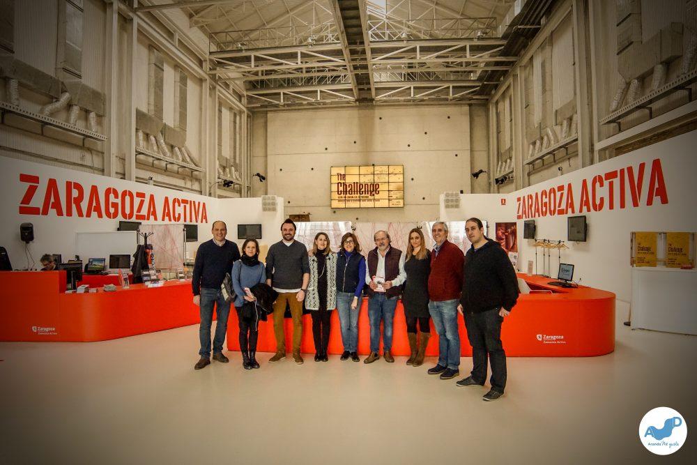 Aranda en Zaragoza Activa