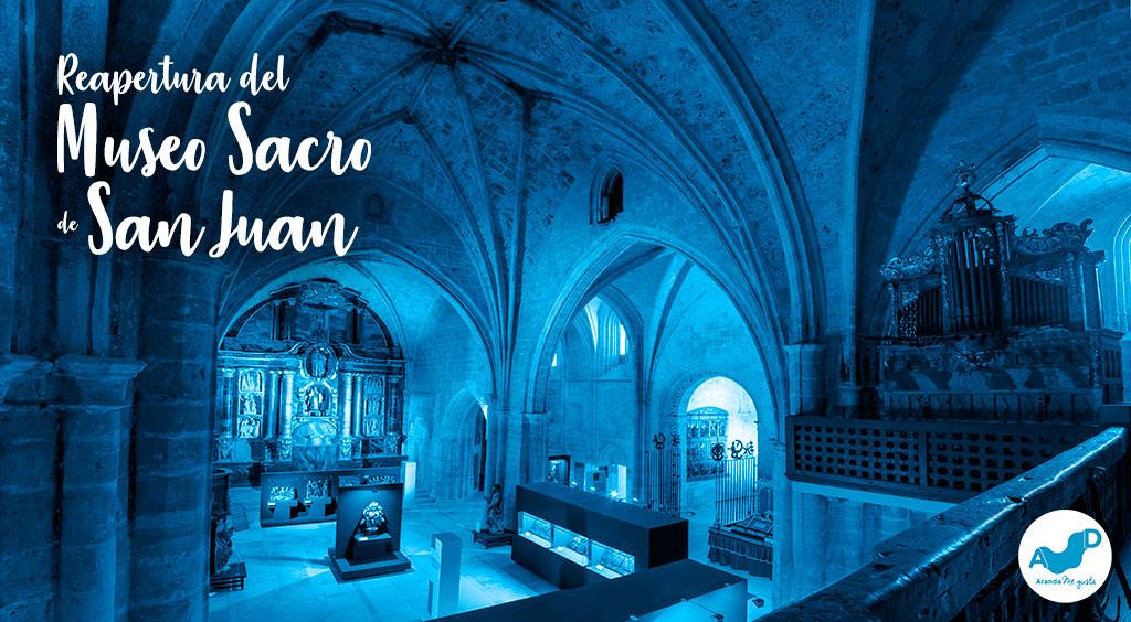 Reapertura del Museo Sacro de San Juan a partir de Marzo